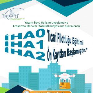 İHA0 / İHA1/ İHA2 Pilotluğu Eğitimleri