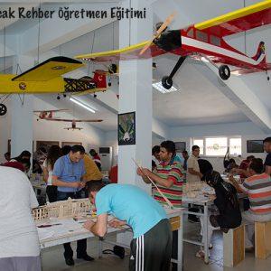 Model Uçak Serbest Rehber Öğretmen Tekamül Kursu