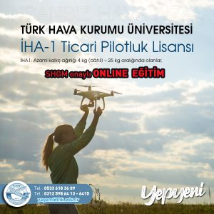 İHA1 ONLINE EĞİTİMLER BAŞLIYOR!