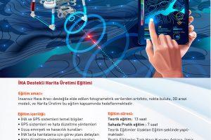 İHA Harita Üretim Eğitimi_A4 ilan